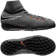 Venin Nike Hyper Phantomx 3 Académie Df Tf Regarderfast - Gris / Orange / Enfants Blancs 9rmrr3H