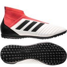 adidas Predator Tango 18+ TF Cold Blooded - Wit/Zwart/Rood Kinderen