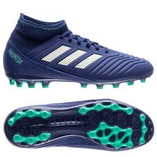 Prédateur Adidas 18,3 Fg / Ag Grève Mortelle - Bleu / Vert / Vert