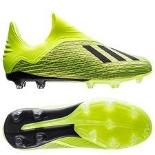 adidas X 18+ FG/AG Team Mode - Geel/Zwart/Wit Kinderen