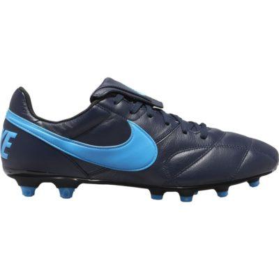 Nike PREMIER II FG Voetbalschoenen Zwart Blauw