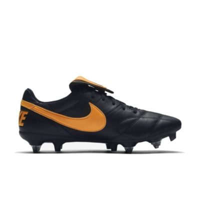 Nike PREMIER II SG PRO AC Voetbalschoenen Zwart Oranje