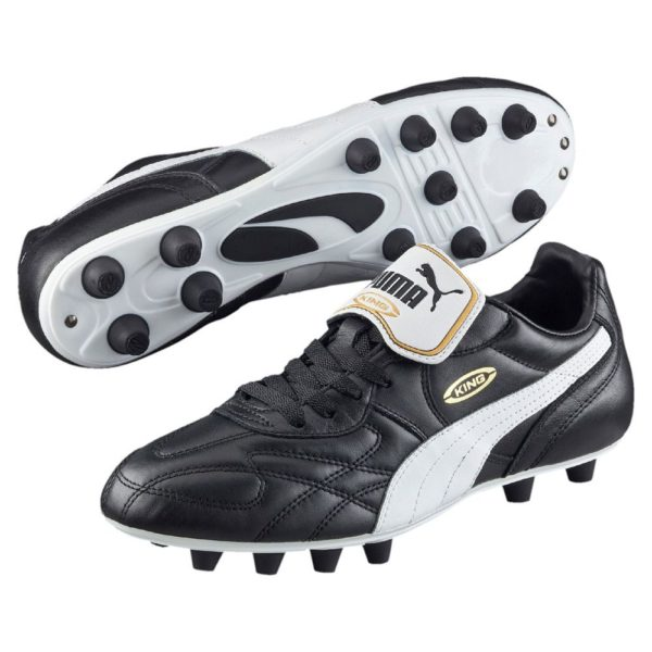 Puma King Top di FG Black/White