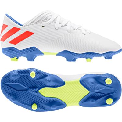 adidas NEMEZIZ MESSI 19.3 FG Voetbalschoenen Wit Rood Blauw Kids