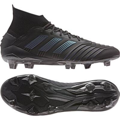adidas PREDATOR 19.1 FG Voetbalschoenen Zwart Zwart