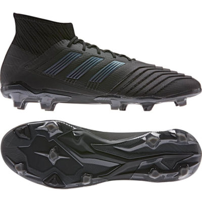 adidas PREDATOR 19.2 FG Voetbalschoenen Zwart Zwart