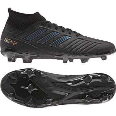 adidas PREDATOR 19.3 FG Voetbalschoenen Zwart Zwart