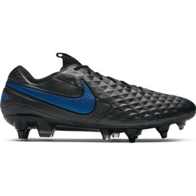 Nike Tiempo Legend 8 ELITE SG PRO Anti-Clog Zwart Zwart Blauw