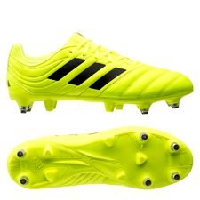 adidas Copa 19.3 SG Hard Wired - Geel/Zwart