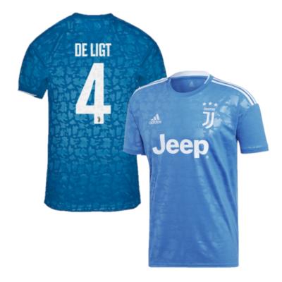 Juventus Shirt 3rd Junior 2019-2020 De Ligt 4