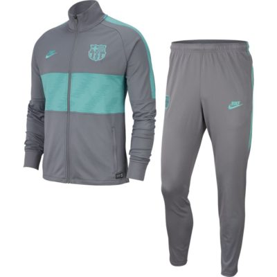 Nike FC Barcelona Dry Strike Trainingspak 2019-2020 Antraciet