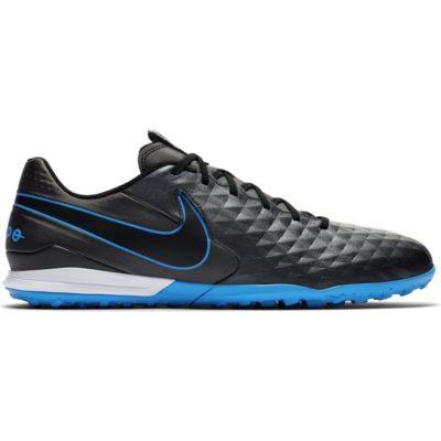 Nike Tiempo Legend 8 ACADEMY TF Voetbalschoenen Zwart Zwart Blauw