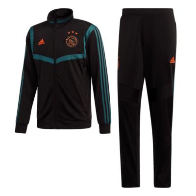 adidas Ajax Trainingspak 2019-2020 Zwart Groen