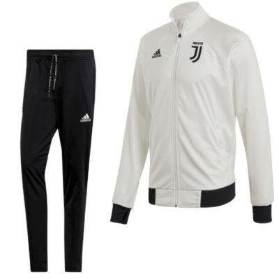 adidas Juventus ICONS Trainingspak Wit Zwart