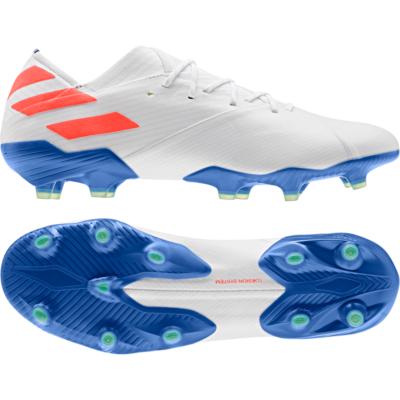 adidas NEMEZIZ MESSI 19.1 FG Voetbalschoenen Wit Rood Blauw