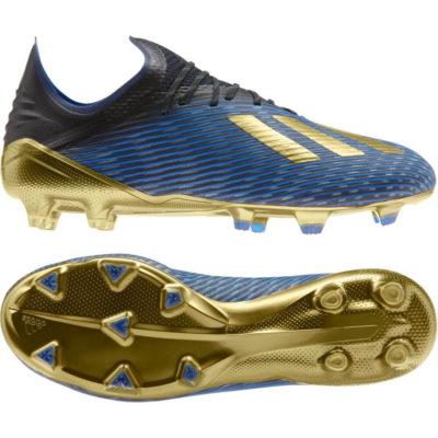 adidas X 19.1 FG Voetbalschoenen Zwart Goud