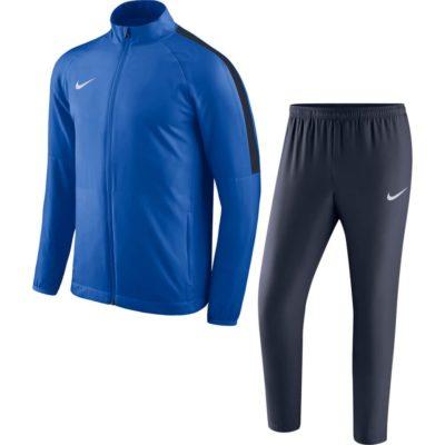 Nike Dry Academy 18 Trainingspak Blauw Donkerblauw