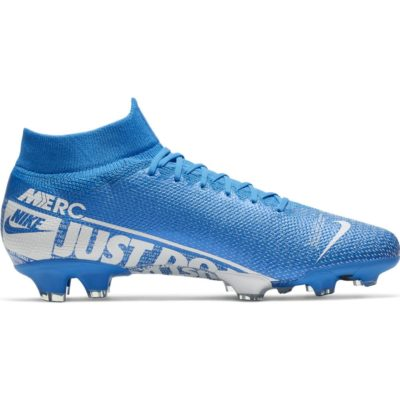 Nike Mercurial Superfly 7 PRO Gras Voetbalschoenen (FG) Blauw Wit Blauw