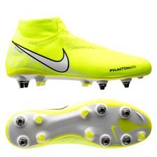 Nike Phantom Vision Elite DF SG-PRO New Lights - Neon/Wit