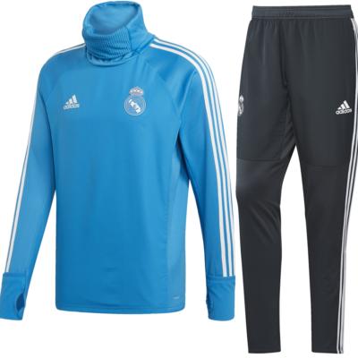 Real Madrid Warm Sweatpak Senior 2018-2019