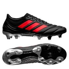 adidas Copa 19.1 FG/AG 302 Redirect - Zwart/Rood/Zilver