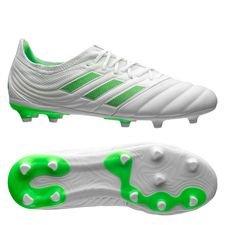 adidas Copa 19.1 FG/AG Virtuso - Wit/Groen Kinderen