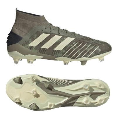 adidas PREDATOR 19.1 Gras Voetbalschoenen (FG) Groen Beige Geel
