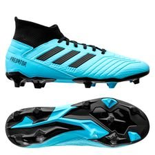 adidas Predator 19.3 FG/AG Hard Wired - Turquoise/Zwart