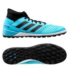 adidas Predator 19.3 TF Hard Wired - Turquoise/Zwart