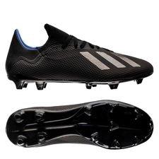 adidas X 18.3 FG/AG Archetic - Zwart/Blauw