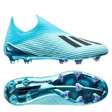 adidas X 19+ FG/AG Hard Wired - Turquoise/Zwart/Roze