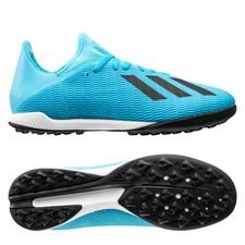 adidas X 19.3 TF Hard Wired - Turquoise/Zwart
