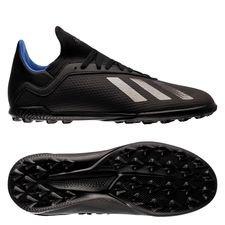adidas X Tango 18.3 TF Archetic - Zwart/Blauw Kinderen
