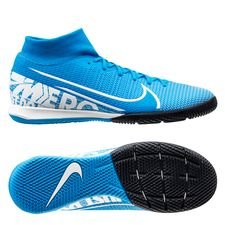 Nike Mercurial Superfly 7 Academy IC New Lights - Blauw/Wit/Navy