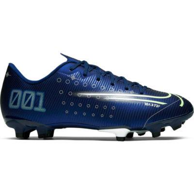 Nike Mercurial Vapor 13 Academy Gras / Kunstgras Voetbalschoenen (MG) Kids Blauw Geel