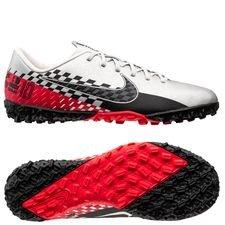 Nike Mercurial Vapor 13 Academy TF NJR Speed Freak - Zilver/Zwart/Rood Kinderen