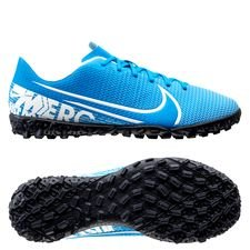 Nike Mercurial Vapor 13 Academy TF New Lights - Blauw/Wit/Navy Kinderen