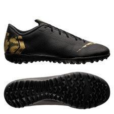 Nike Mercurial VaporX 12 Academy TF Black Lux - Zwart/Goud