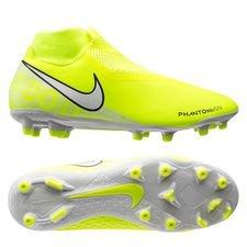 Nike Phantom Vision Academy DF MG New Lights - Neon/Wit