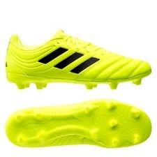 adidas Copa 19.3 FG/AG Hard Wired - Geel/Zwart