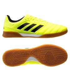 adidas Copa 19.3 IN Hard Wired - Geel/Zwart