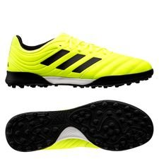 adidas Copa 19.3 TF Hard Wired - Geel/Zwart