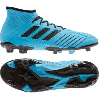 adidas PREDATOR 19.2 Gras Voetbalschoenen (FG) Blauw Zwart