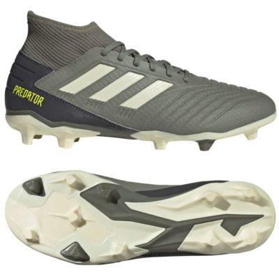 adidas PREDATOR 19.3 Gras Voetbalschoenen (FG) Groen Beige Geel