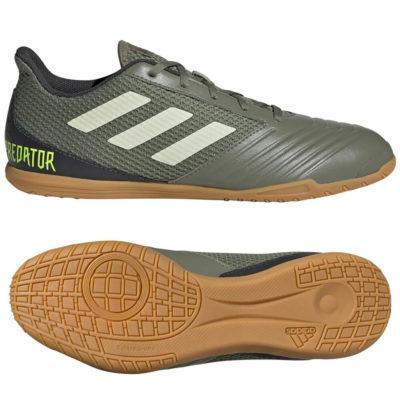 adidas PREDATOR 19.4 SALA Zaalvoetbalschoenen Groen Beige Geel
