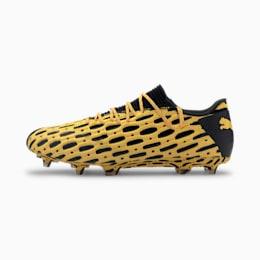 FUTURE 5.1 NETFIT Low FG/AG voetbalschoenen voor Heren, Zwart/Geel | PUMA