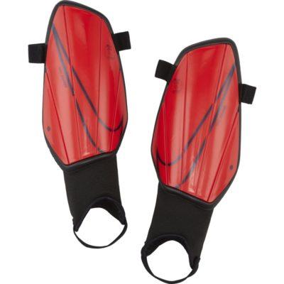 Nike Charge Scheenbeschermers Rood Zwart