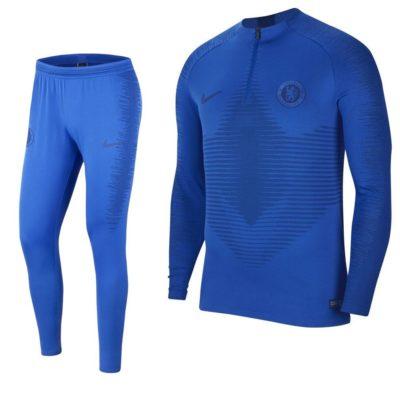 Nike Chelsea VaporKnit Trainingspak 2019-2020 Blauw