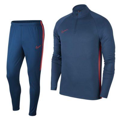Nike Dry Academy Top Trainingspak Blauw Rood