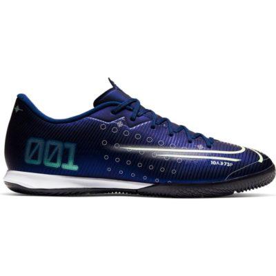 Nike Mercurial Vapor 13 ACADEMY Zaalvoetbalschoenen Blauw Geel